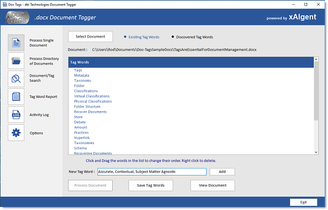 xAIgent automates Keyword, Key Phrase, Key Term retrieval